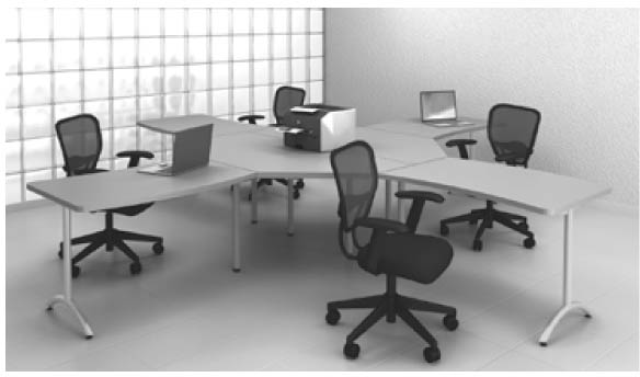Setting The Pace Workspace SolutionsWorkspace Solutions - 4 person conference table