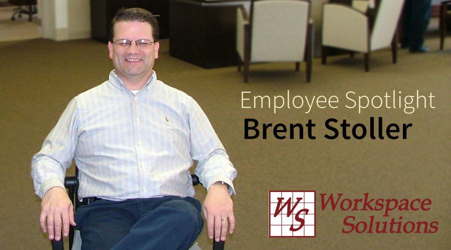 Brent Stoller owner of Workspace Solutions