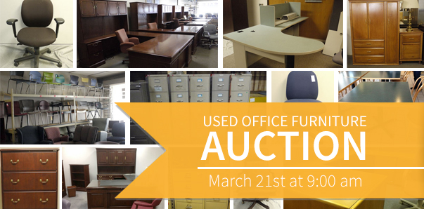 fort wayne used office furniture auction