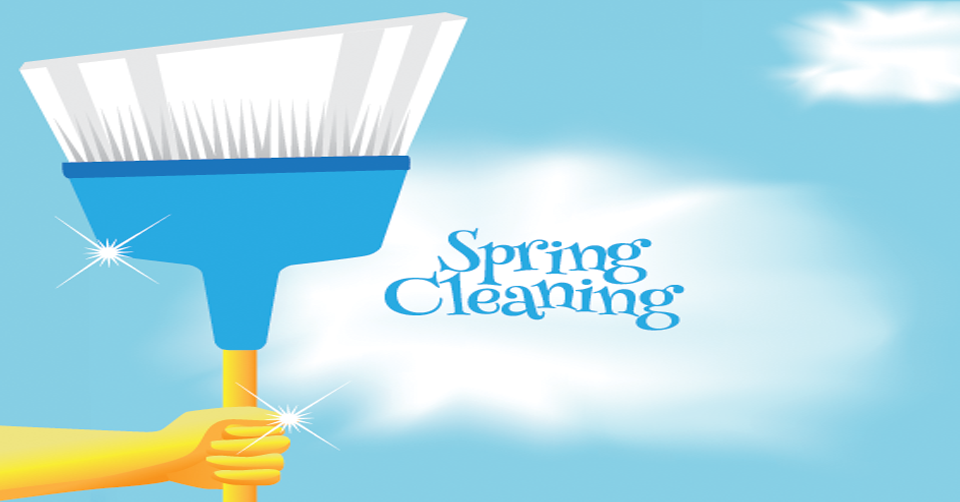 spring cleaning your office