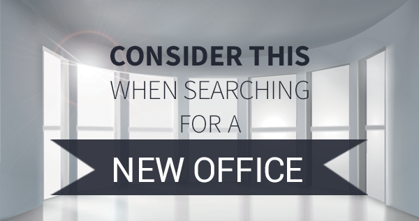 what to look for in a new office