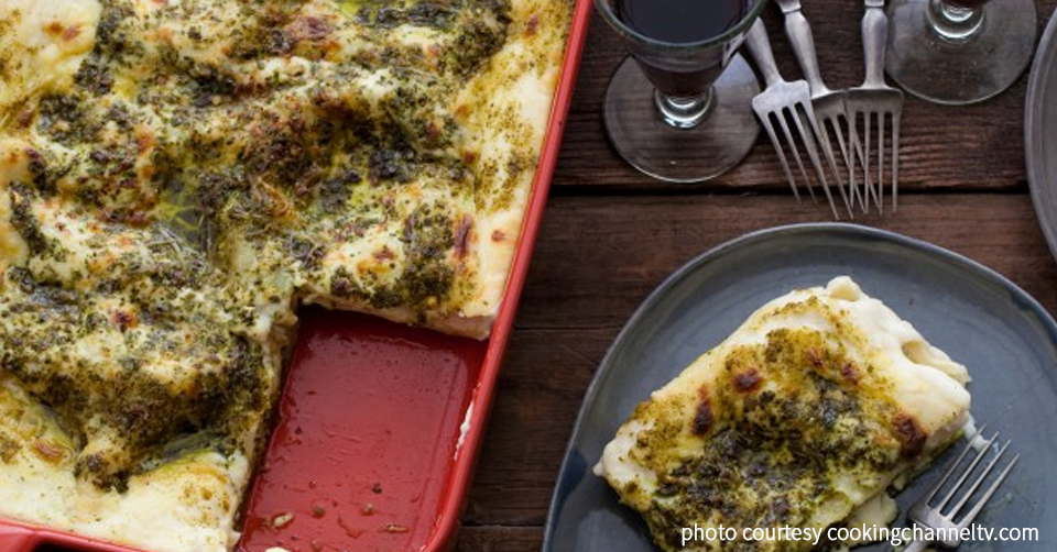 pesto lasagne recipe