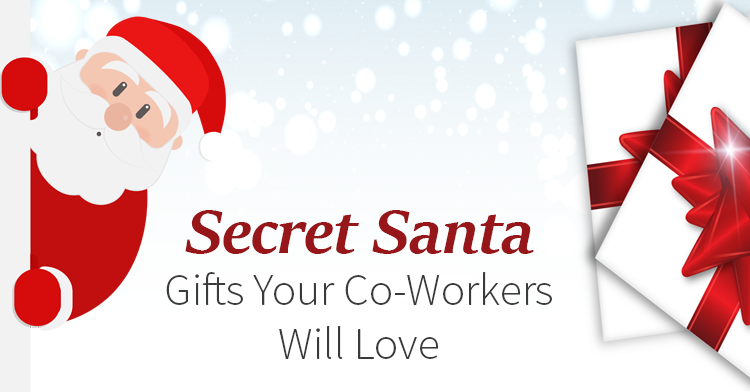 secret santa gifts for co-workers