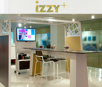 izzy modern office furniture collaborative