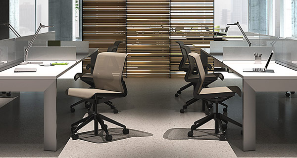 allsteel desks chairs