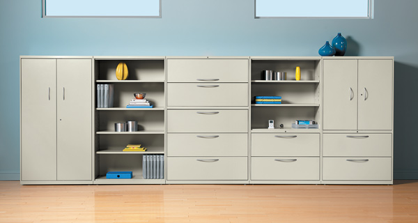 Filing Cabinets And Bookshelves