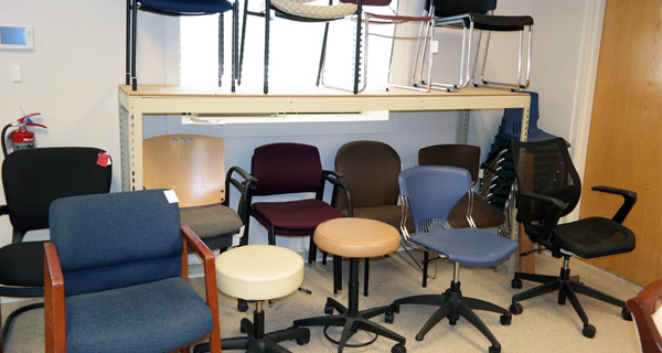 Used Desk Table Office Chairs